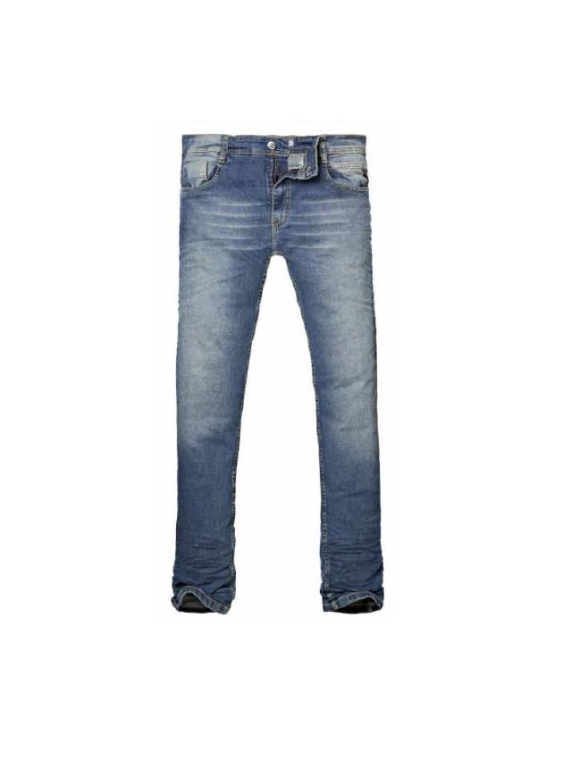 8019085 PANTALON JEAN ANBASS BLEACH BLUE | RAIDERS
