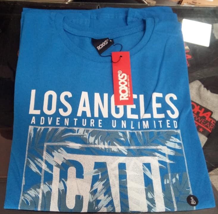 412053 REMERA MANGA CORTA LOS ANGELES | ROXXS