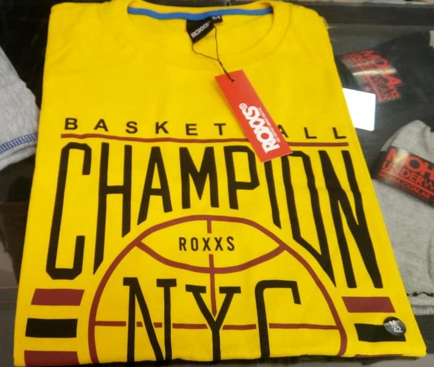 412037 REMERA MANGA CORTA BASKETBALL | ROXXS