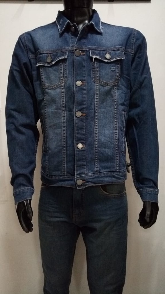 2000/3 CAMPERA JEAN APOLOGY SPANDEX HOMBRE