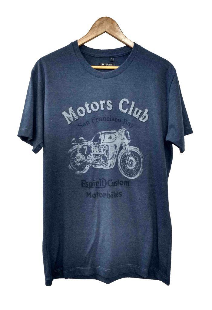 28170 REMERA MANGA CORTA MEL SOFT MOTORS CLUB | BRAVO JEANS