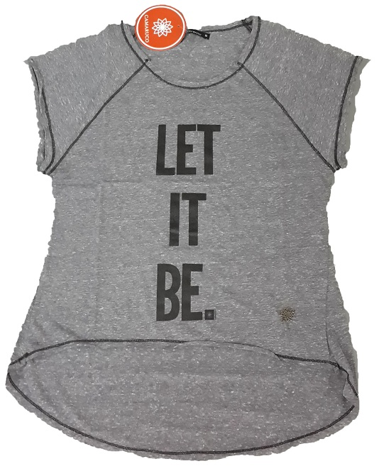 15113 REMERA LET IT BE TALLE M CAMARUCO
