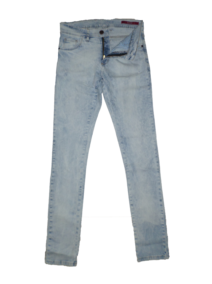 56301 PANTALON JEAN ROQUE DENIM REFLEX+CORROSION | AM BLUE