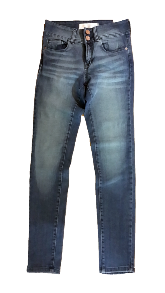 56304 BERMUDA JEAN ALEXANDER DENIM | AM BLUE