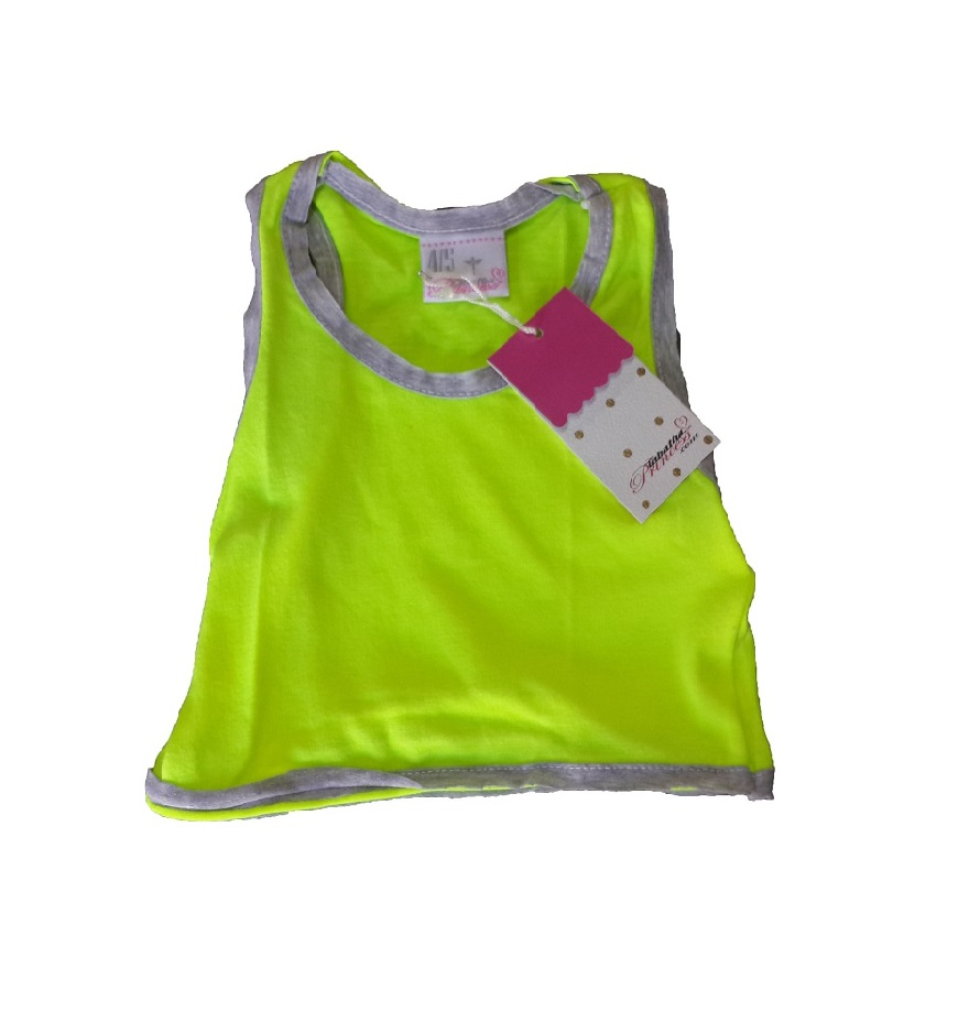 H10073 TOP FLUO DEPORTIVO TALLE 4
