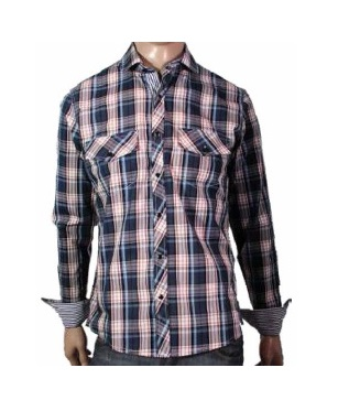 I12410 CAMISA ESCOCES MULTICOLOR TALLE M | PANTHER