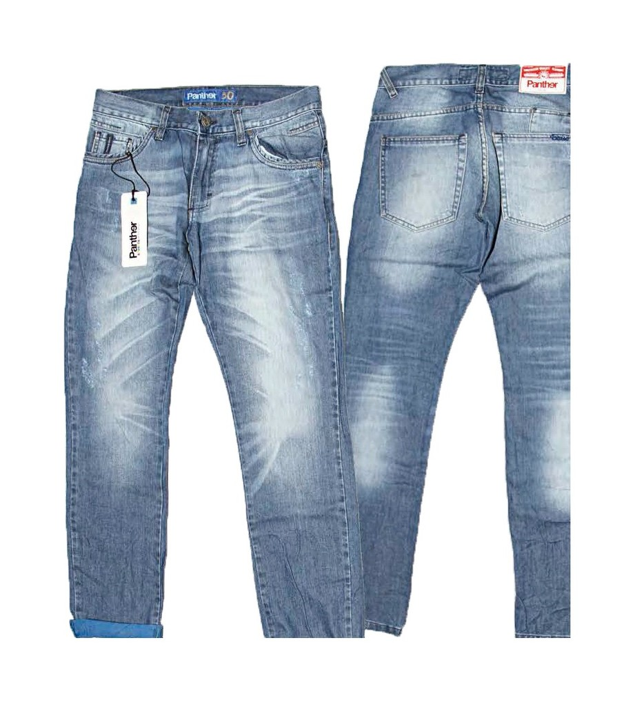 I14118 JEAN AZUL INTERIOR FRANCIA TALLE 28 | PANTHER
