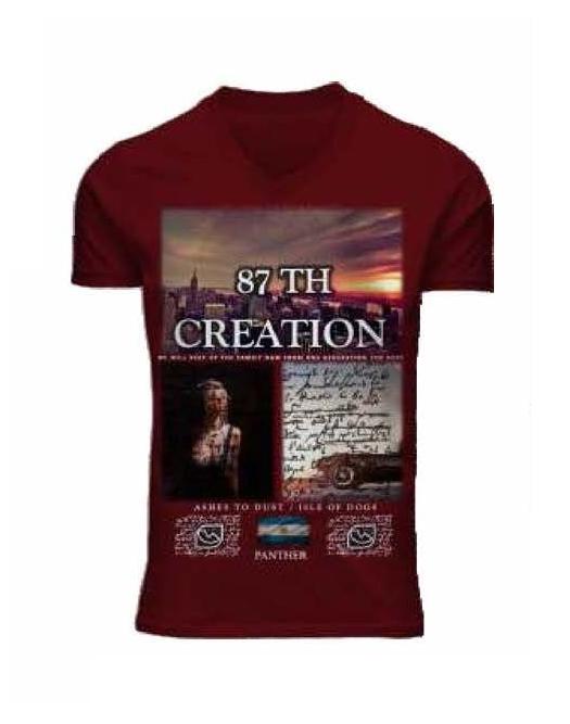 I14385 REMERA MANGA CORTA 87 TH CREATION | PANTHER