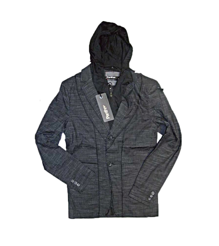 I14603 SACO CON CAPUCHA GRIS TALLE M | PANTHER