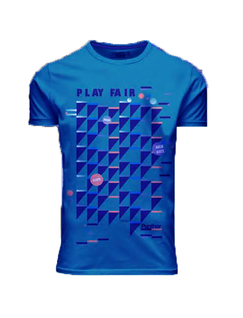 I15305 REMERA M/C PLAY FAIR JERSEY AZUL FRANCIA TALLE XL   PANTHER
