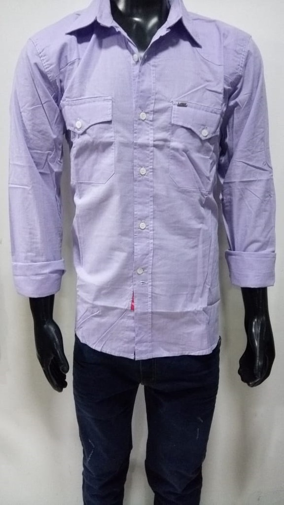 I13402 CAMISA LILA TALLE L | PANTHER