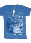 I14365 REMERA MANGA CORTA FUNNY MUSIC | PANTHER