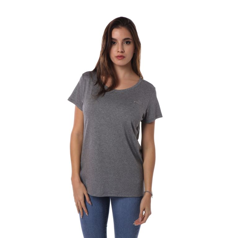 915356 REMERA MANGA CORTA BASIC BORDADO | VOV JEANS